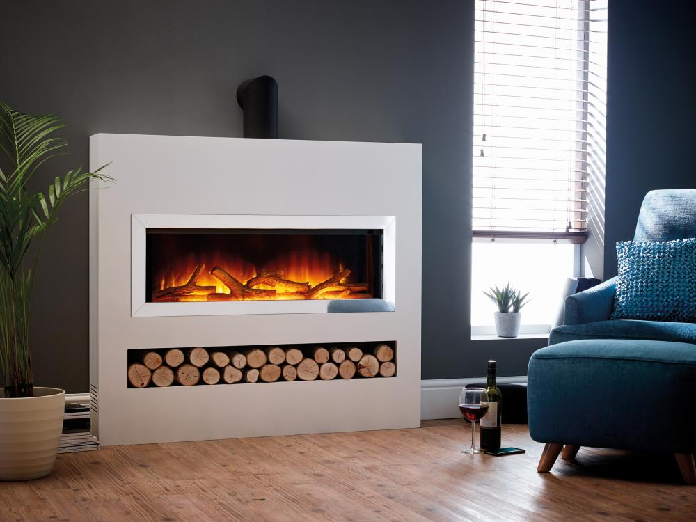 Gotham 900 Four Sided Suite Electric Fires Ni